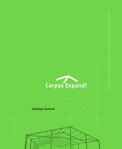 catálogo productos servicios carpas expandi zaragoza