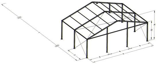 estructura almacenes industriales zaragoza