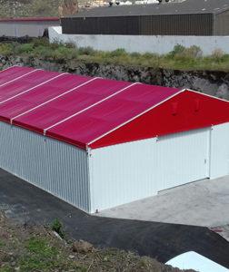 fabricacion instalación carpa islas canarias